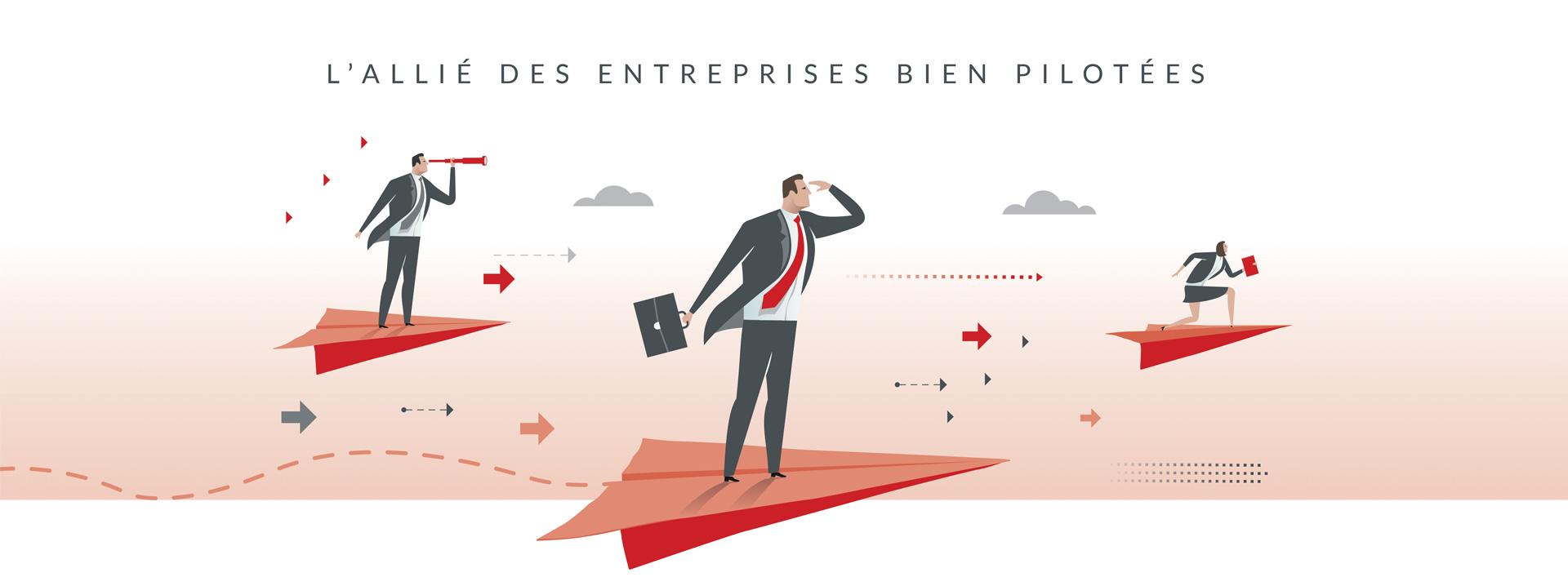 Le cabinet André Vincent Expert, l'allié des entreprises bien pilotées